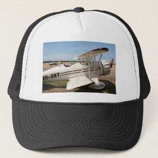 Waco biplane aircraft trucker hat