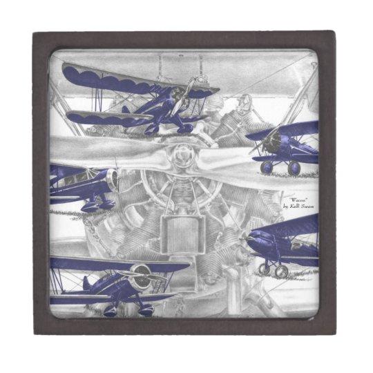 Waco Biplane Gift Box