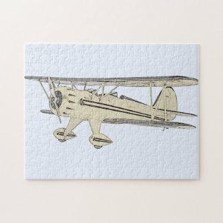 Waco Biplane Jigsaw Puzzle