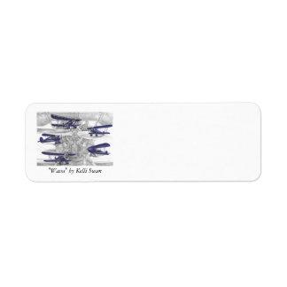 Waco Biplane Label