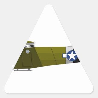 Waco CG-4 Hadrian Triangle Sticker