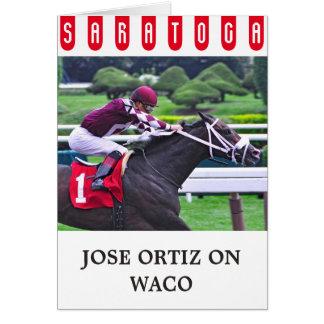 Waco con Jose Ortiz Tarjeta De Felicitación