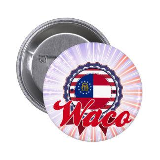 Waco, GA Pinback Button