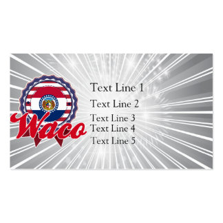 Waco, MO Double-Sided Standard Business Cards (Pack Of 100)