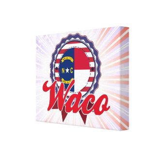 Waco NC Stretched Canvas Prints