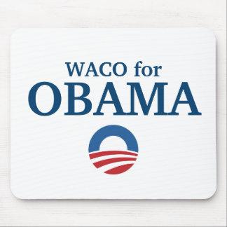 WACO para el personalizado de Obama su ciudad pers Tapete De Raton