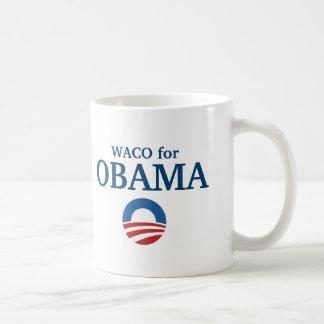 WACO para el personalizado de Obama su ciudad pers Tazas De Café