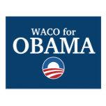 WACO para el personalizado de Obama su ciudad Postal