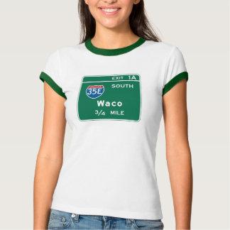 Waco, señal de tráfico de TX Camisas