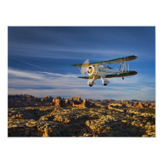 Waco sobre Moab Posters