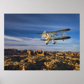 Waco sobre Moab Póster