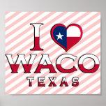 Waco, Tejas Poster