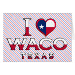 Waco, Tejas Tarjeta