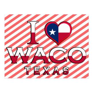 Waco, Tejas Tarjeta Postal