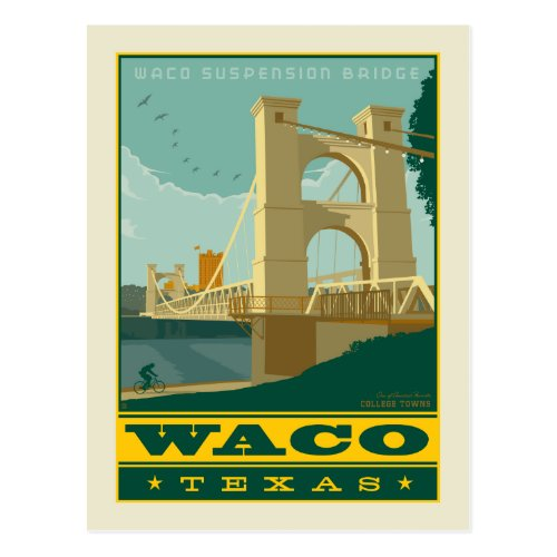 Waco Texas Postcard