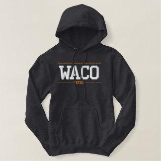 Waco Texas USA Embroidered Hoodies