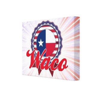 Waco TX Gallery Wrap Canvas