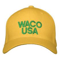 Waco USA Embroidered Baseball Hat