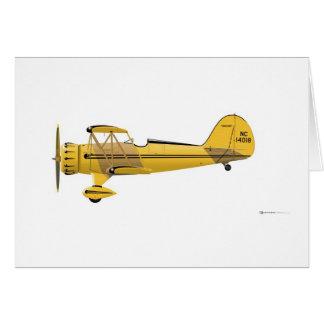 Waco YMF-5 Super 14018 Card