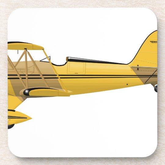 Waco YMF-5 Super 14018 Coaster
