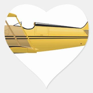 Waco YMF-5 Super 14018 Heart Sticker