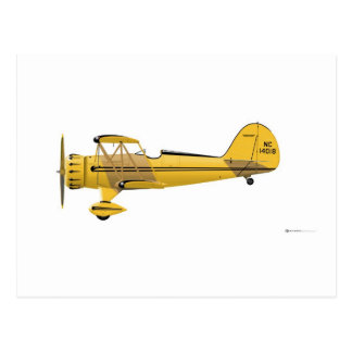 Waco YMF-5 Super 14018 Postcard
