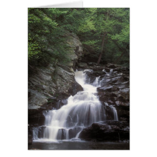 Waconah Falls Berkshires Massachusetts Card