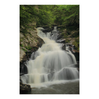 Waconah Falls Berkshires Poster