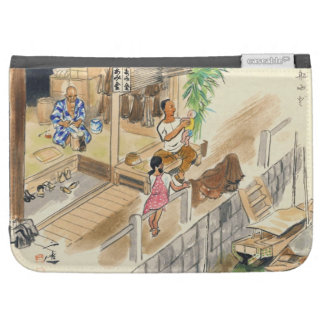 Wada Japanese Vocations In Pictures Funayado Sanzo Cases For Kindle