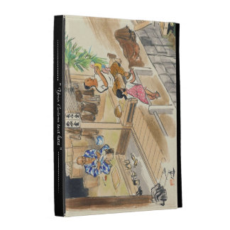 Wada Japanese Vocations In Pictures Funayado Sanzo iPad Folio Case