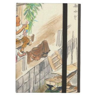 Wada Japanese Vocations In Pictures Funayado Sanzo iPad Folio Cases