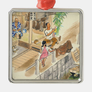 Wada Japanese Vocations In Pictures Funayado Sanzo Christmas Tree Ornaments