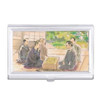 Wada Sanzo Playing Go ukiyo-e japanese fine art