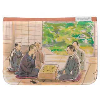 Wada Sanzo Playing Go ukiyo-e japanese fine art Kindle 3 Cases