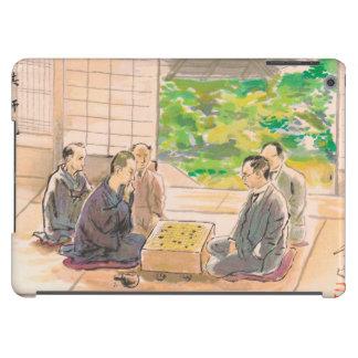 Wada Sanzo Playing Go ukiyo-e japanese fine art iPad Air Cases