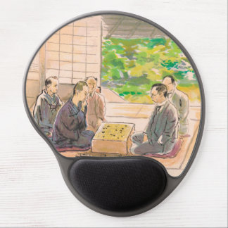 Wada Sanzo Playing Go ukiyo-e japanese fine art Gel Mouse Pads