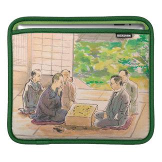 Wada Sanzo Playing Go ukiyo-e japanese fine art Sleeves For iPads