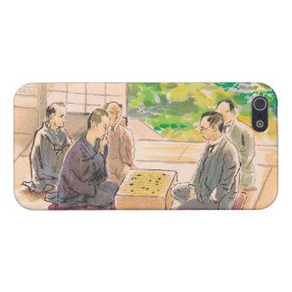 Wada Sanzo Playing Go ukiyo-e japanese fine art iPhone 5 Cover