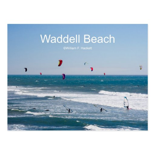 Waddell Beach California Products Postcard