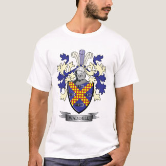 Waddell Family Crest Coat of Arms T-Shirt