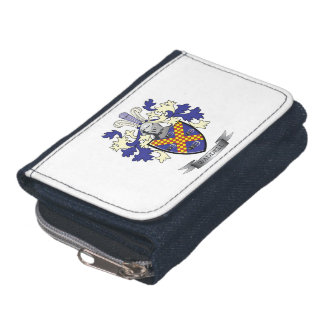 Waddell Family Crest Coat of Arms Wallets