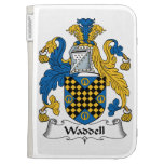 Waddell Family Crest Kindle Cover