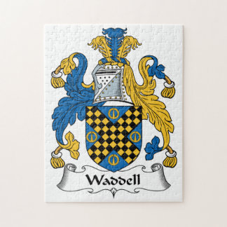 Waddell Family Crest Puzzle