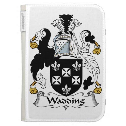 Wadding Family Crest Kindle Folio Case
