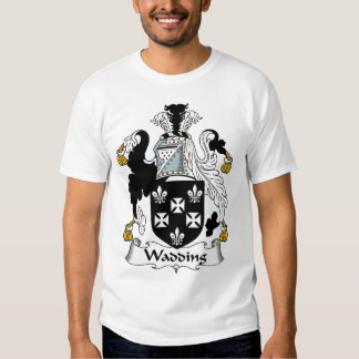 Wadding Family Crest T Shirt