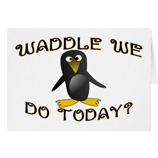 Waddle hacemos felicitaciones