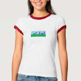 Waddles Back to School Ringer T-shirt