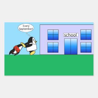 Waddles Back to School Sticker