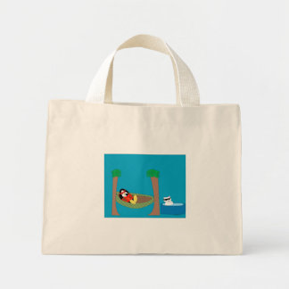 Waddles Chillin' Tote Bag