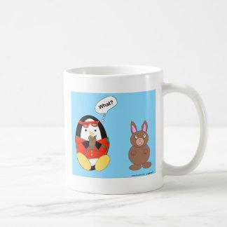 Waddles Chocolate Bunny Easter Mug